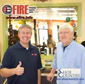 Shoe Country and E Fire
