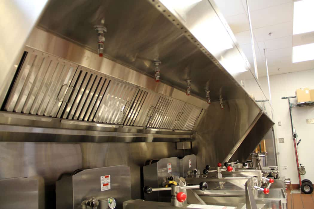 Kitchen exhaust cleaning e fire protection security for Best kitchen exhaust system