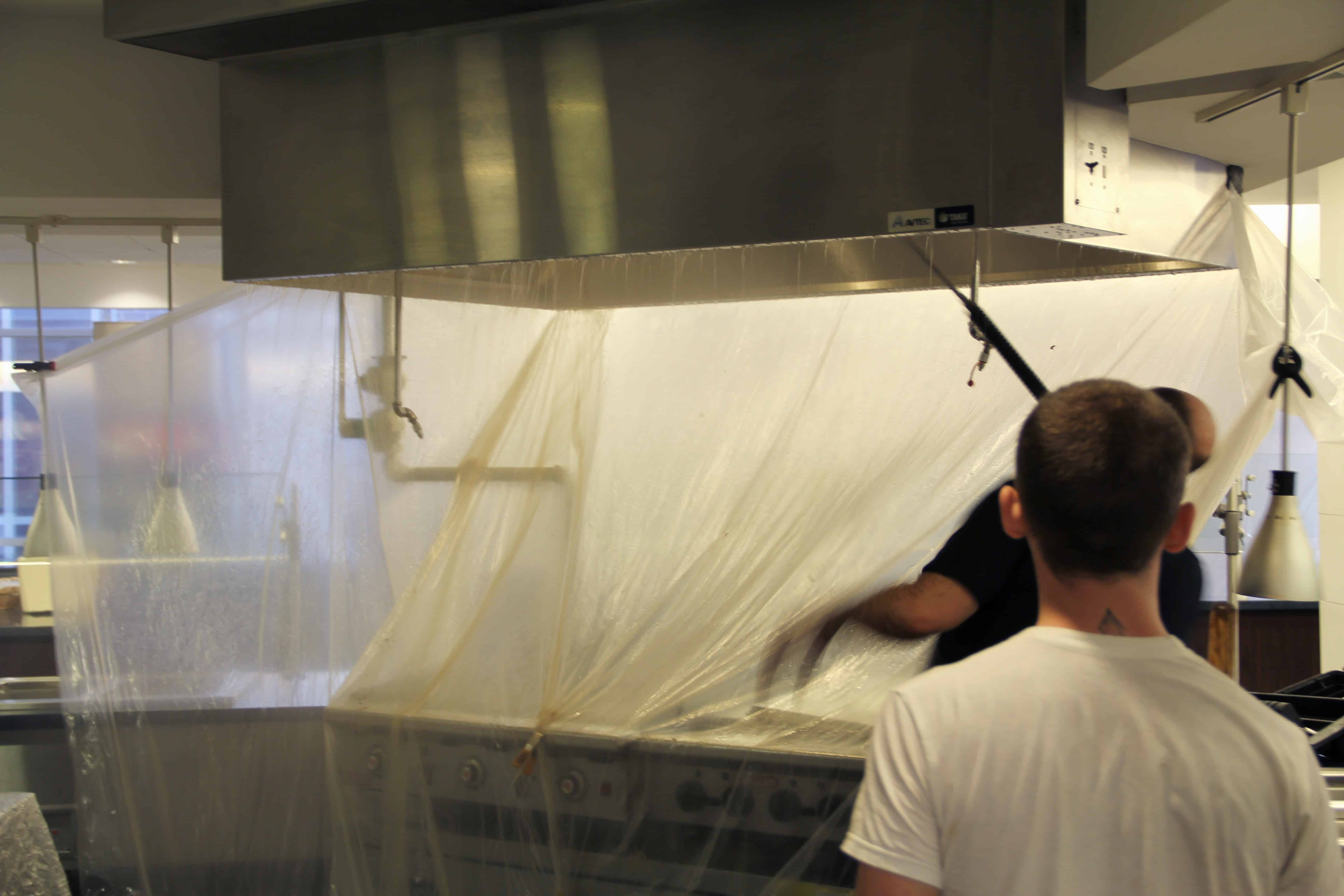 kitchen exhaust cleaning e fire protection security and safety