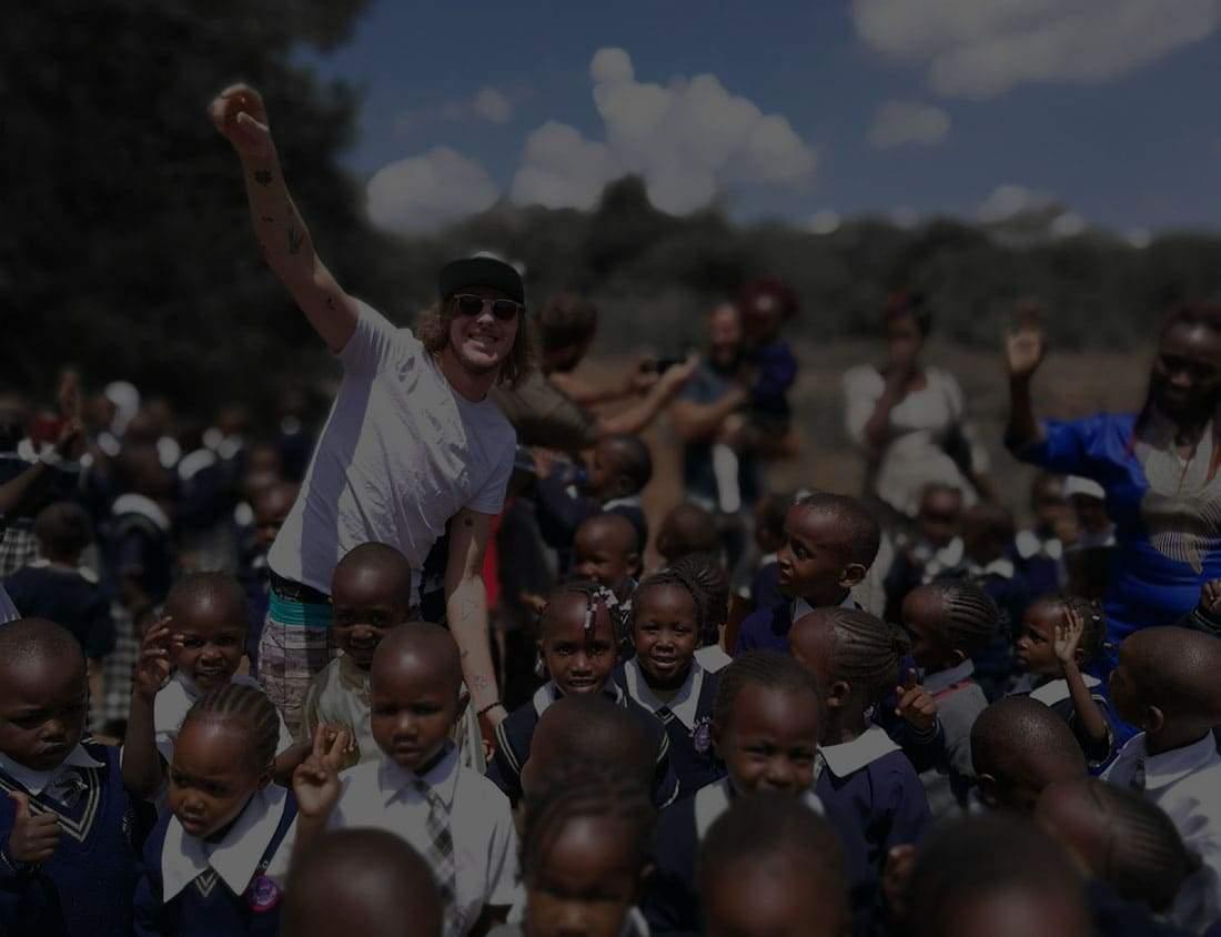 EFIX artiste humanitaire enfants
