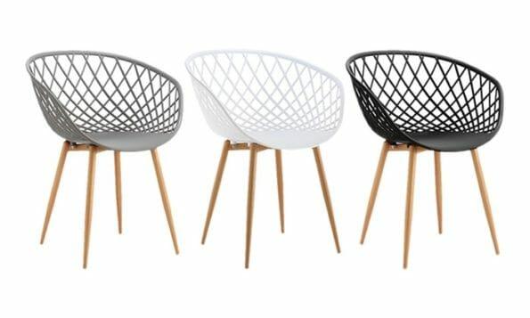 chaise scandinave pas cher laquelle
