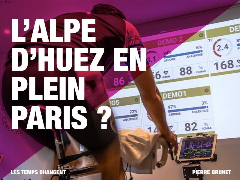 L'Alpes d'Huez en plein Paris ?