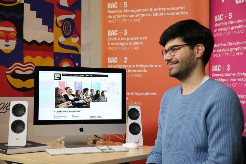 Alexandre - chef de projet web - Nokia