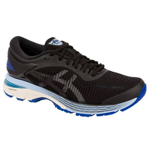 Asics Gel Kayano 25 Women's Running Shoe Black Asics Blue 1012A026 001
