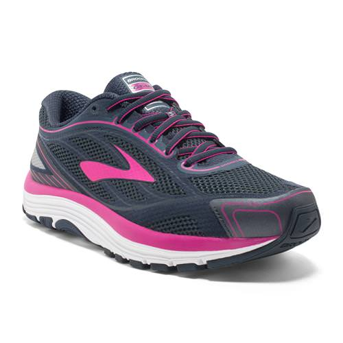 Brooks Dyad 9 Women's Running Ombre Blue Festival Fuchsia Mood Indigo 1202231B442