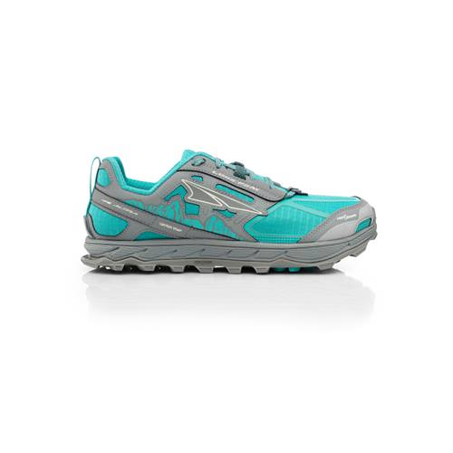 Altra Lone Peak 4 Trail Running Shoe for Women Teal Grey AFW1855F-31