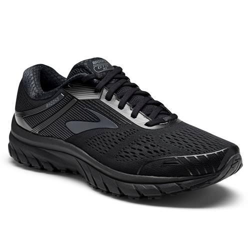 Brooks Adrenaline GTS 18 Men's Running Wide 4E Black Black 1102714E026