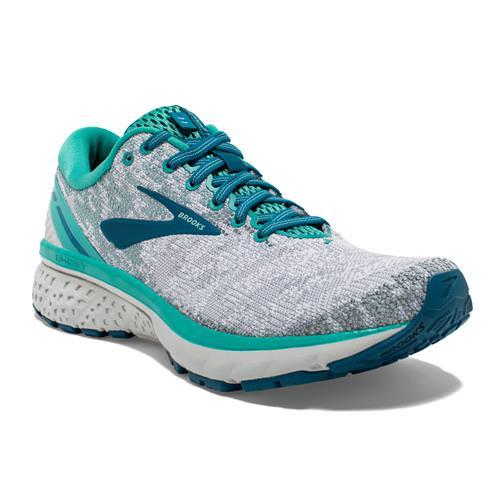 Brooks Ghost 11 Women's Running White Grey Latigo 1202771B118