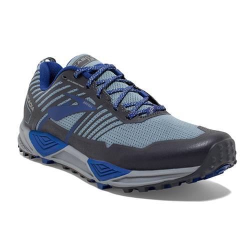 Brooks Cascadia 13 Men's Running Grey Blue Ebony 1102851D058