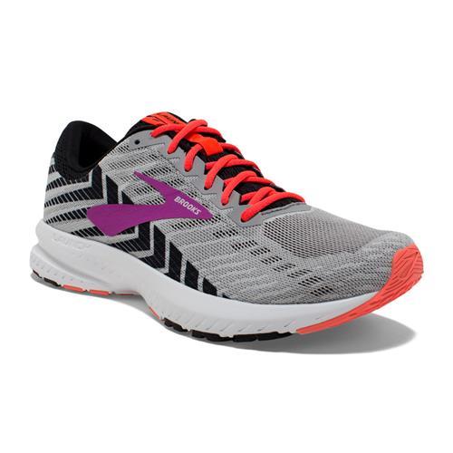 Brooks Launch 6 Women's Running Grey Black Purple 1202851B027