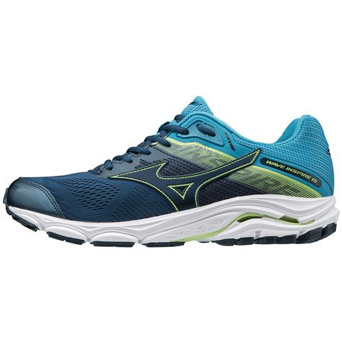 Mizuno Wave Inspire 15 Men's Running Shoes WIDE EE Blue Wing Teal Dress Blue 411051.BW5Q