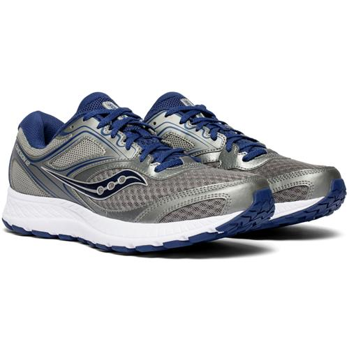 Saucony Cohesion 12 Men's Running Grey Blue S20471-1