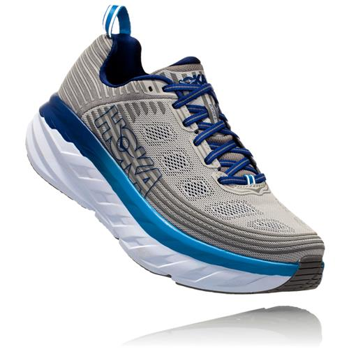 Hoka One One Bondi 6 Men's Vapor Blue Frost Grey 1019269 VBFG