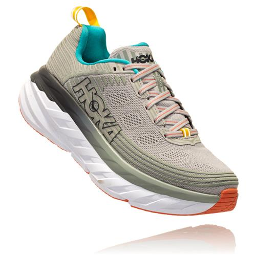 Hoka One One Bondi 6 Women's Vapor Blue Wrought Iron 1019270 VBWI