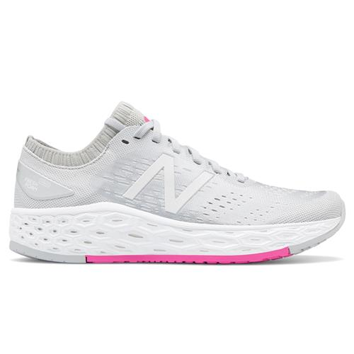 New Balance Fresh Foam Vongo v4 Women's Running Shoe Light Aluminum White Peony WVNGOGG4