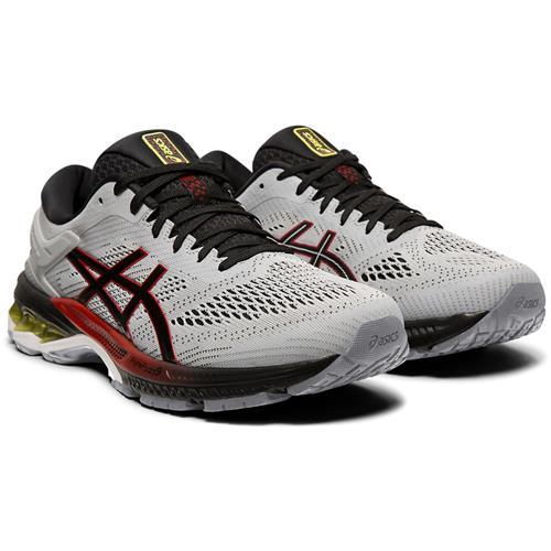 Asics Gel Kayano 26 Men's Running Shoe Piedmont Grey Black 1011A541 020
