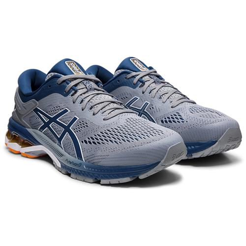 Asics Gel Kayano 26 Men's Running Shoe Sheet Rock Mako Blue 1011A541 021