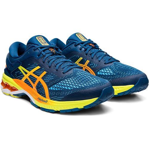 Asics Gel Kayano 26 SP Men's Running Shoe Mako Blue Sour Yuzu 1011A712 400