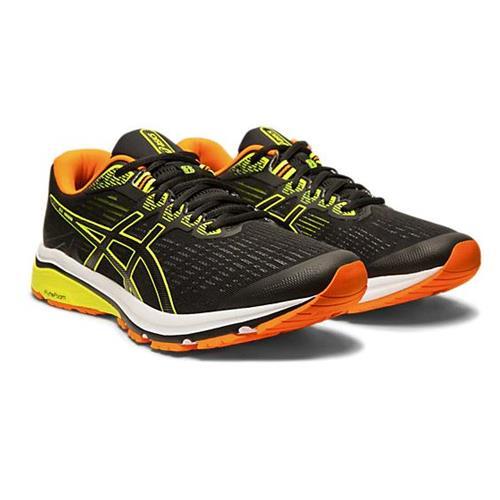 Asics GT-1000 8 Men's Running Shoe Black Safety Yellow 1011A540 003
