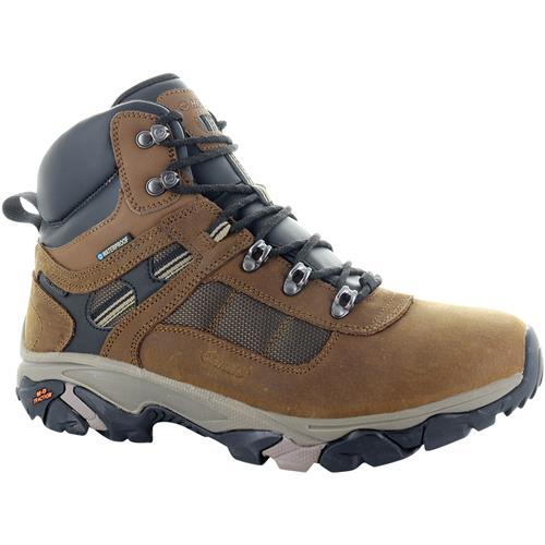 Hi-Tec Ravus Quest Lux Men's Waterproof Hiking Boots Teak 53132