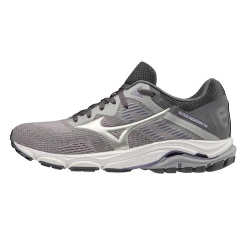 Mizuno Wave Inspire 16 Women's Running Shoe Wide D Vapor Blue-Silver 411163.VB73