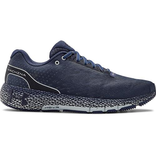 Under Armour HOVR Machina Men's Running Shoe Blue Ink Halo Gray 3021939-402