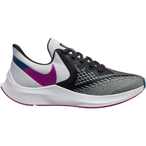Nike Zoom Winflo 6 Women's Running Black Vivid Purple Photon Dust AQ8228-006