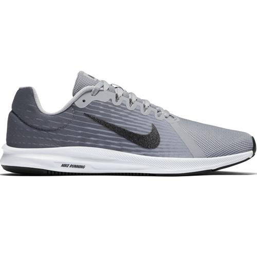 Nike Downshifter 8 Women's Wide Running Cool Grey Metallic Silver Wolf Grey 921714-006