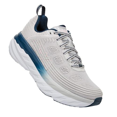 Hoka One One Bondi 6 Women's Lunar Rock Nimbus Cloud 1019270 LRNC
