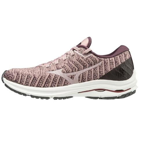 Mizuno Wave Rider 24 Waveknit Women's Running Woodrose-Pale Lilac 411229.1P6B