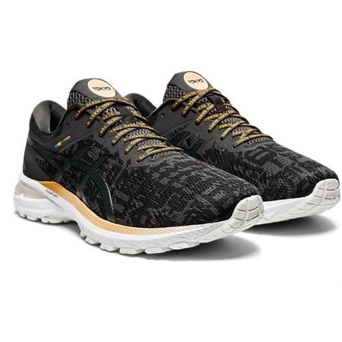 Asics GT-2000 8 Sound Tokyo Women's Running Shoe Black Graphite Grey 1012A940 001