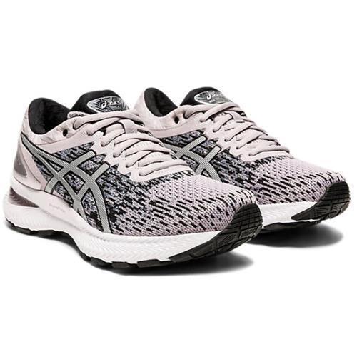 Asics Gel Nimbus 22 Knit Women's Running Haze Pure Silver 1012A678 250