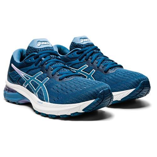 Asics GT-2000 9 Women's Running Shoe Mako Blue Grey Floss 1012A859 400