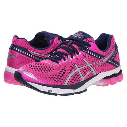 Asics GT-1000 4 Women's Running Pink Glow Silver Indigo Blue T5A7N 3593