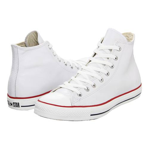 Converse Chuck Taylor All Star Hi Leather White 132169C