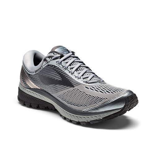 Brooks Ghost 10 Men's Running Primer Grey Metallic Charcoal Ebony 1102571D034