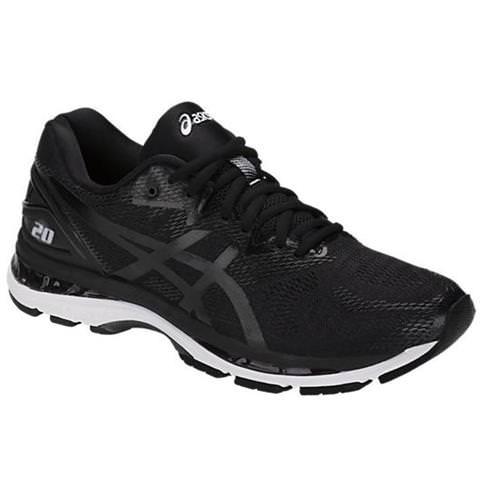 Asics Gel Nimbus 20 Men's Running Shoe Wide 4E Black White Carbon T802N 9001