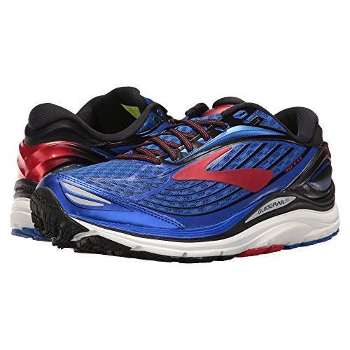 Brooks Transcend 4 Men's Running Electric Brooks Blue Black High Risk Red 1102491D414