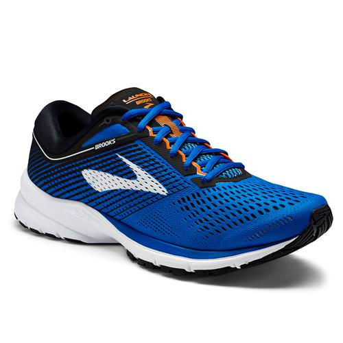 Brooks Launch 5 Men's Running Blue Black Orange 1102781D420