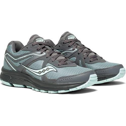 Saucony Cohesion TR11 Women's Trail Running Grey Mint S10427-1