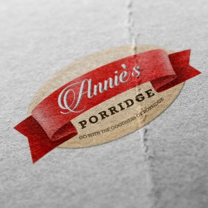 Annie's Porridge Logo Design by Experience Foundry