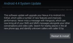 How to update to Android Kitkat