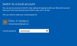 How to switch windows 10 login