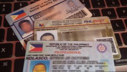 Valid IDs in the Philippines