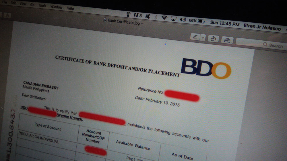 How Can I Get Bank Certificate In Bdo