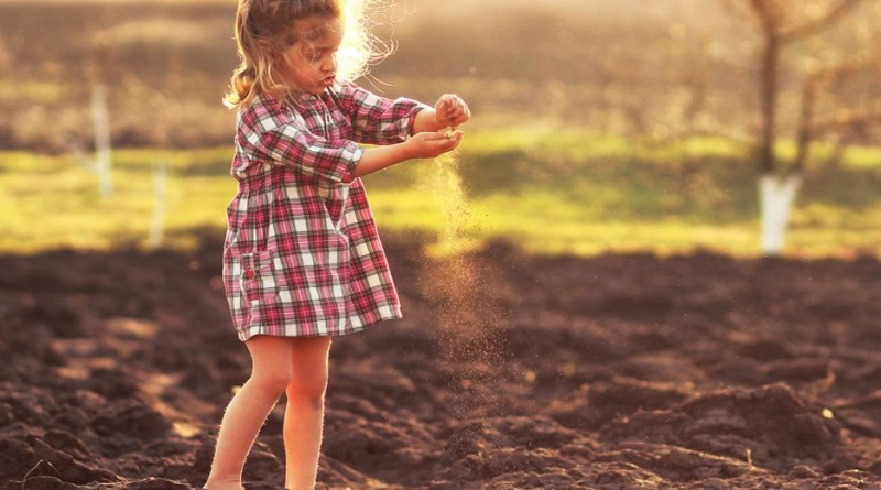 Why your kids need dirt to be healthy