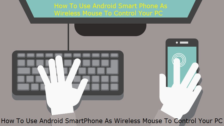Smart Phone As Wireless Mouse