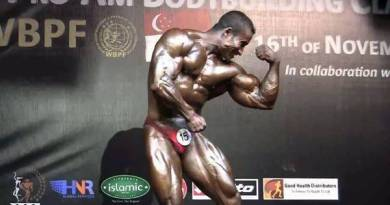 INDIAN BODY BUILDER