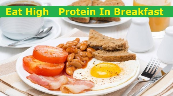 high protein breakfast