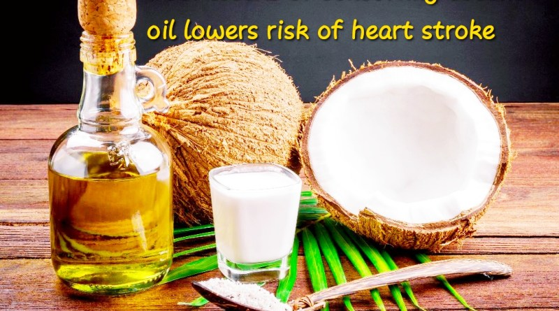 Four weeks of consuming coconut oil lowers risk of heart disease, stroke: Study